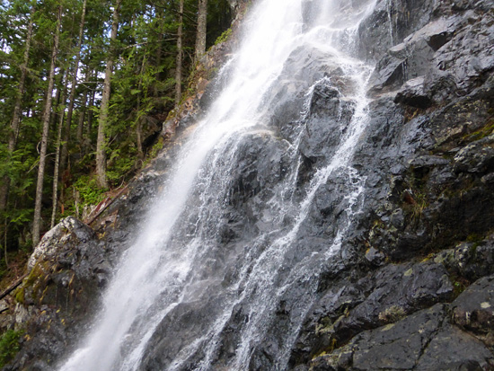 Teneriffe Falls in the Mt. Si Natural Resources Conservation Area